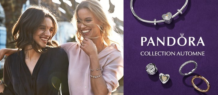 Collection Charms Pandora Automne 2017