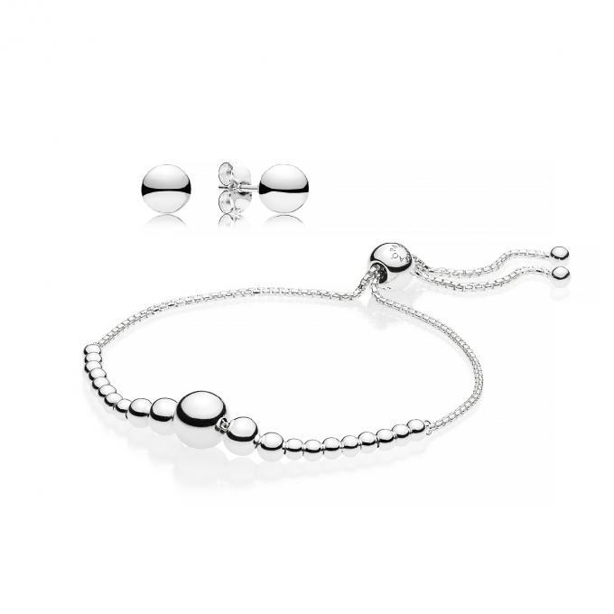 vif et grand en style thésaurisation comme une denrée rare bébé Coffret Pandora B801030 - Bracelet + Boucles d'Oreilles Plus d'infos