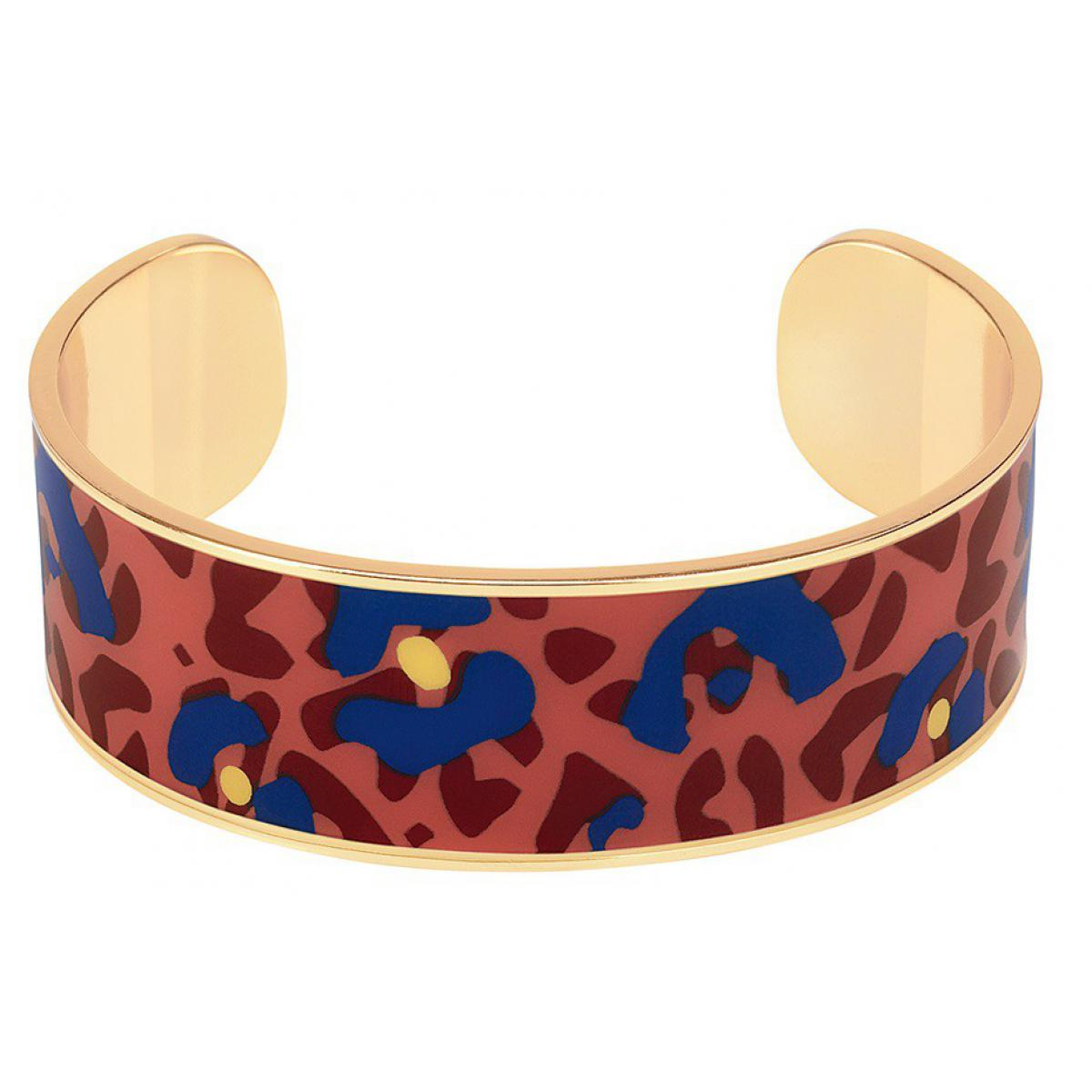Bangle Up Bracelet Bangle Up Bengale BUP06-BEN-BSO1522 - Bracelet Email Bleu Or Femme BUP06-BEN-BSO1522 Bangle Up