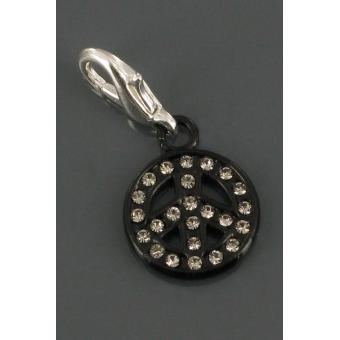 Charms Philae B71 noir / strass cristal