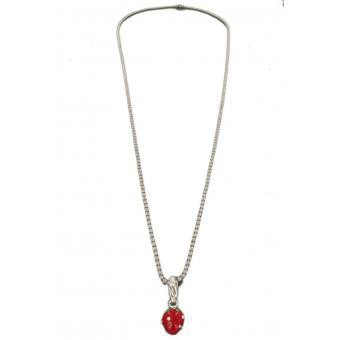 Philae - Charms Fraise - Bijoux charms rouge