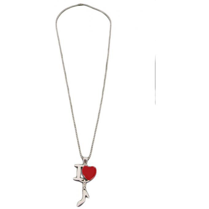 Philae Charms holder I love rouge PH04 - rouge Philae