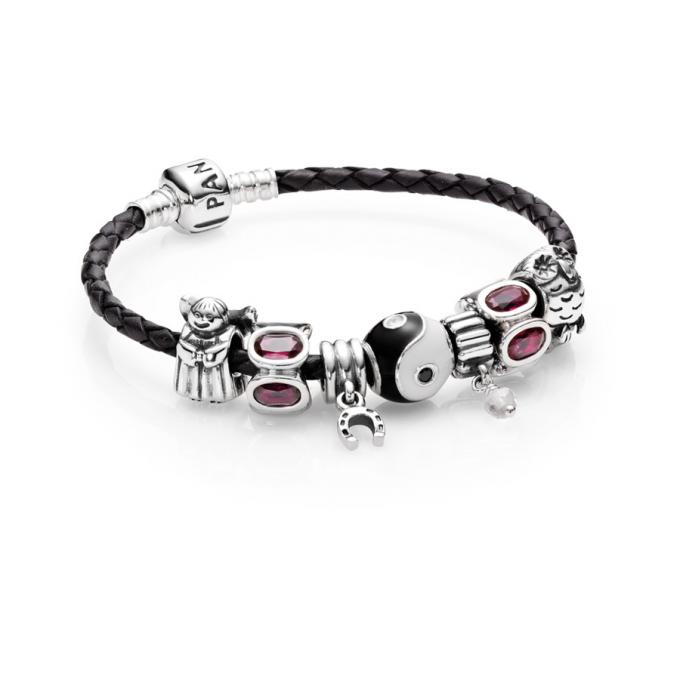 bracelet cuir pandora homme