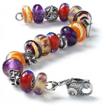 Trollbeads - Bracelet composé ARABIAN NIGHTS - Bracelet charms compose