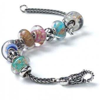 Trollbeads - Bracelet composé SPARKING COLOURS - Bracelet charms compose