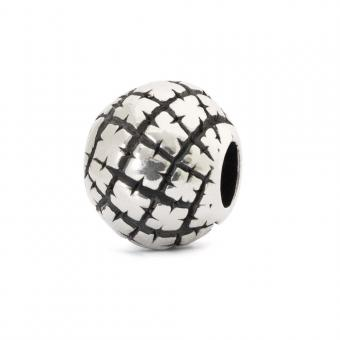 Trollbeads Perle argent nomade TAGBE-30051