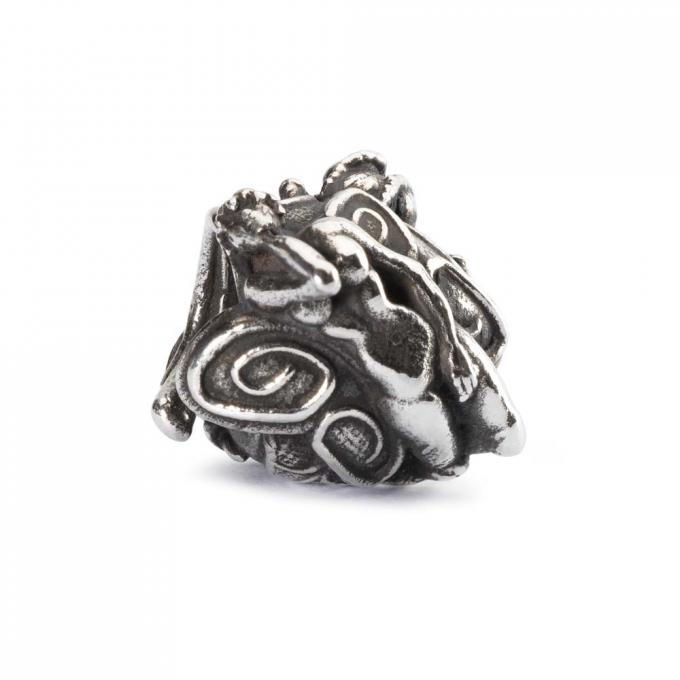 Trollbeads Perle argent nymphe babylonienne TAGBE-20050