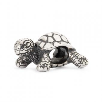 Trollbeads Perle argent tortue africaine TAGBE-20049