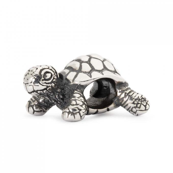 Trollbeads Perle argent tortue africaine TAGBE-20049 Trollbeads