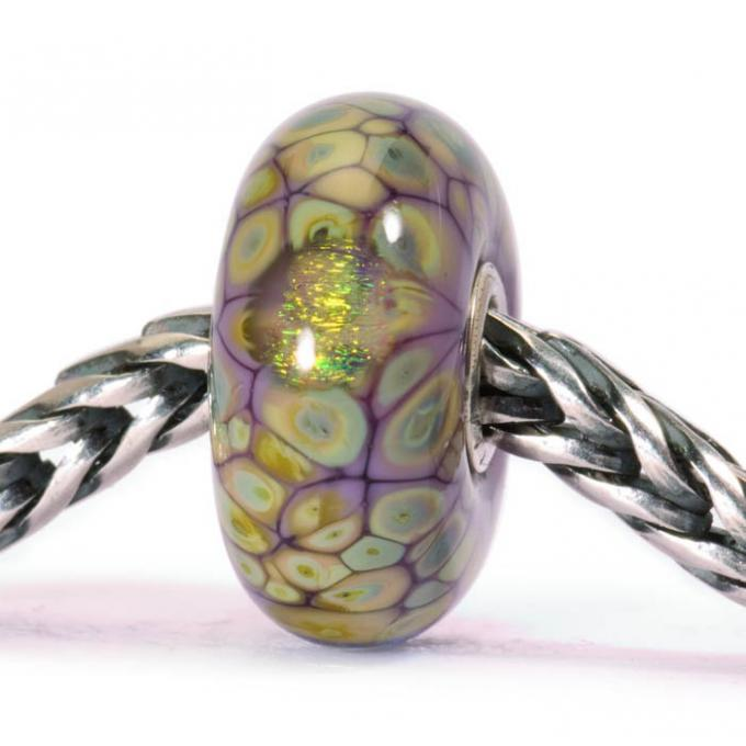 Charms Trollbeads Violet TGLBE-20054