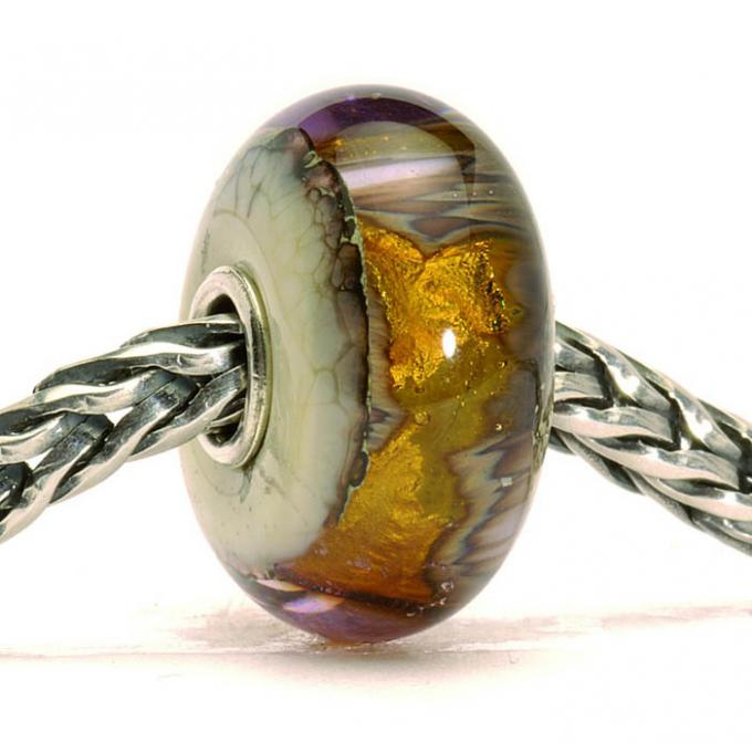 Charms Trollbeads Marron TGLBE-20047