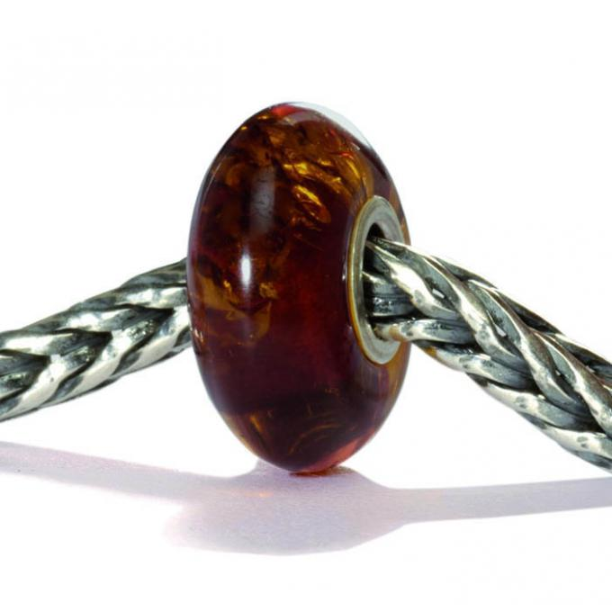 Charms Trollbeads Marron TAMBE-00010