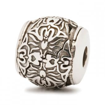 Trollbeads Perle argent les inconciliables TAGBE-60003