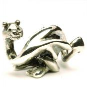 Trollbeads - Perle argent dragon chanceux - Trollbeads