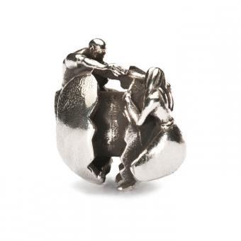 Trollbeads Perle argent amour toujours TAGBE-40036