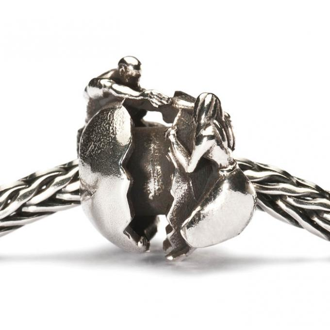 Charms Trollbeads Argent TAGBE-40036 Trollbeads