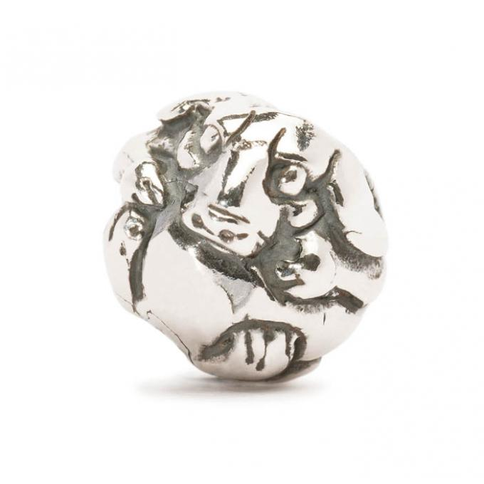Trollbeads Perle argent chien chinois TAGBE-40030 Trollbeads