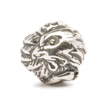 Trollbeads Perle argent coq chinois TAGBE-40029