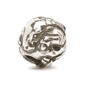 Trollbeads Perle argent chèvre chinoise TAGBE-40027