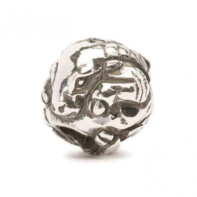 Trollbeads Perle argent chèvre chinoise TAGBE-40027 Trollbeads