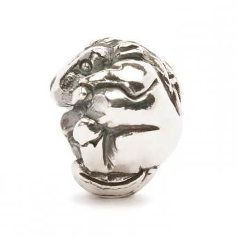 Trollbeads Perle argent cheval chinois TAGBE-40026