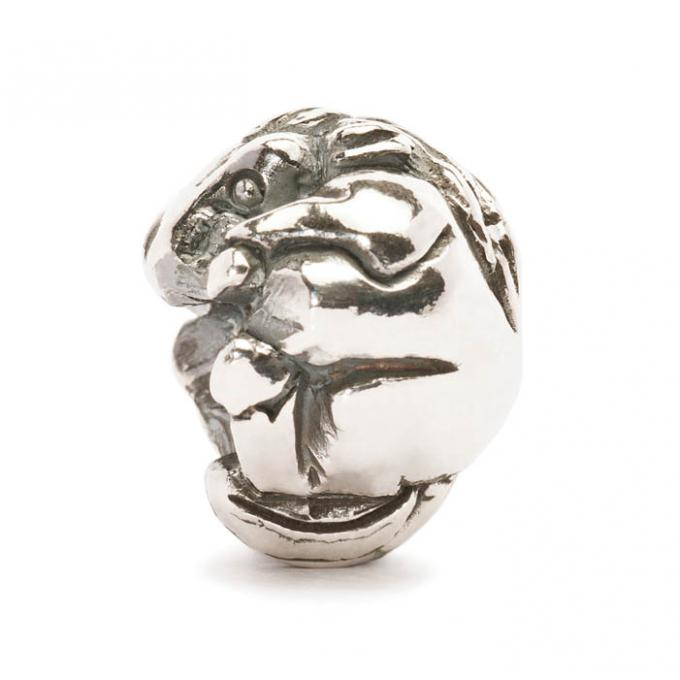 Trollbeads Perle argent cheval chinois TAGBE-40026 Trollbeads