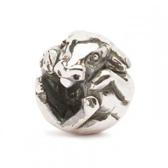 Trollbeads Perle argent boeuf chinois TAGBE-40021