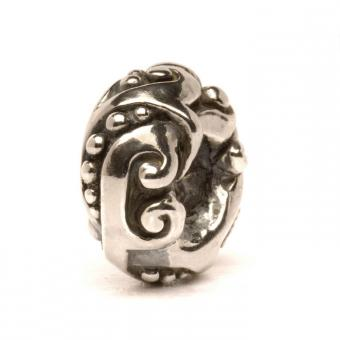 Trollbeads Perle argent jugend TAGBE-40057