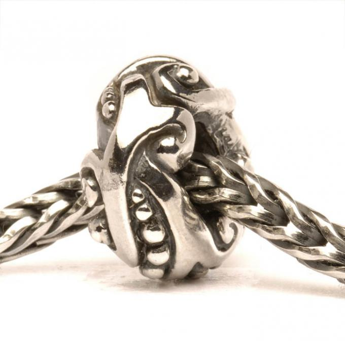 Charms Trollbeads Argent TAGBE-40057 Trollbeads