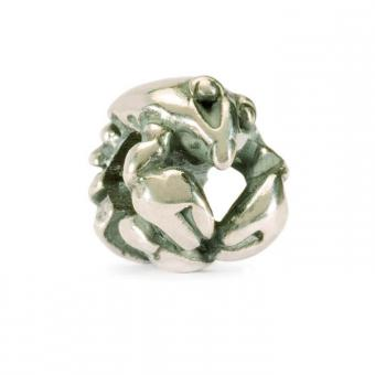 Trollbeads Perle argent cancer TAGBE-30101