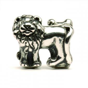Trollbeads Perle argent lions TAGBE-20083