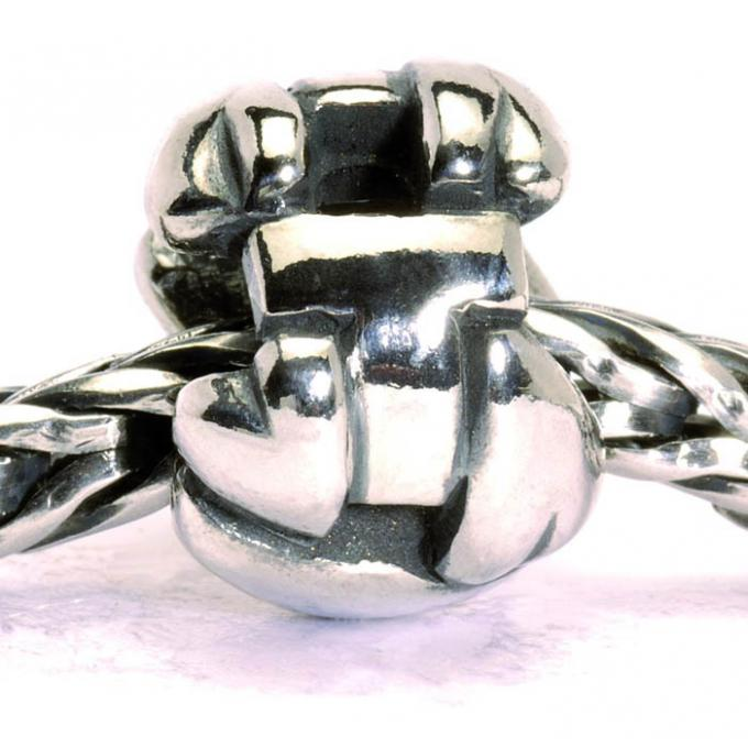 Charms Trollbeads Argent TAGBE-10079 Trollbeads