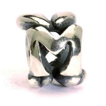 Trollbeads Perle argent m TAGBE-10072
