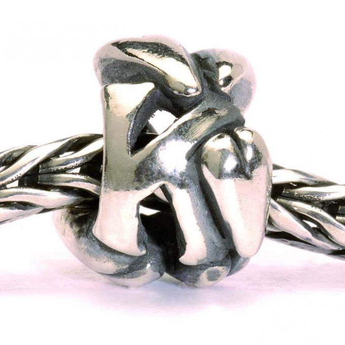 Charms Trollbeads Argent TAGBE-10070 Trollbeads