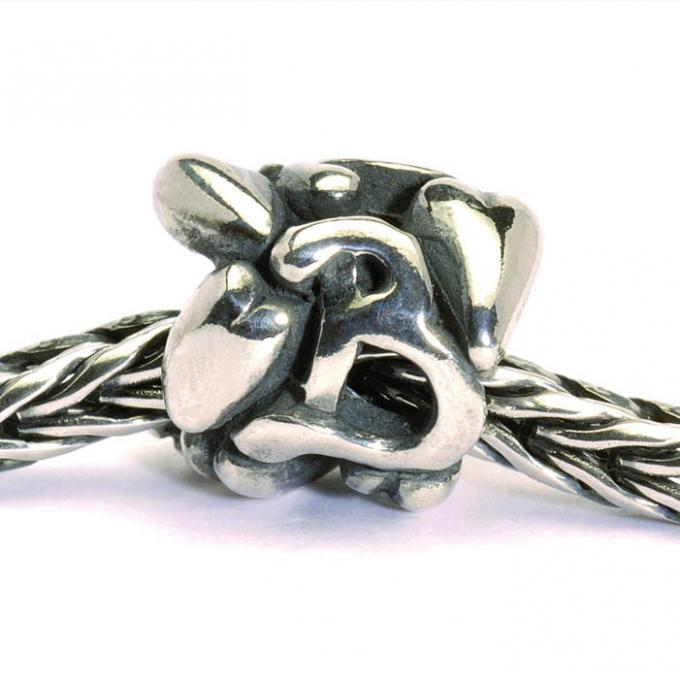 Charms Trollbeads Argent TAGBE-10061 Trollbeads