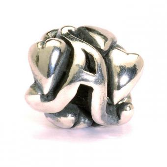 Trollbeads Perle argent a TAGBE-10060