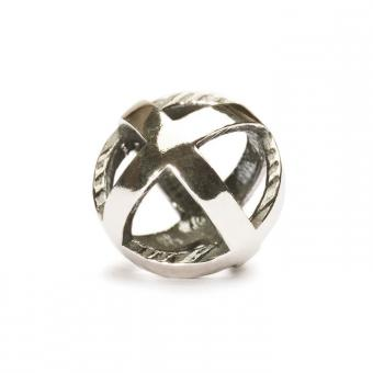 Trollbeads Perle argent rester positif TAGBE-10019