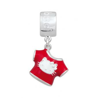 Amore & Baci Charm argent T-shirt Hello Kitty rouge KD125 KD125
