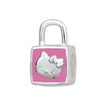 Amore & Baci Perle argent sac émail rose Hello Kitty KB021 KB021