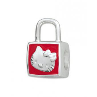 Amore & Baci - Perle argent sac émail rouge Hello Kitty - Amore baci