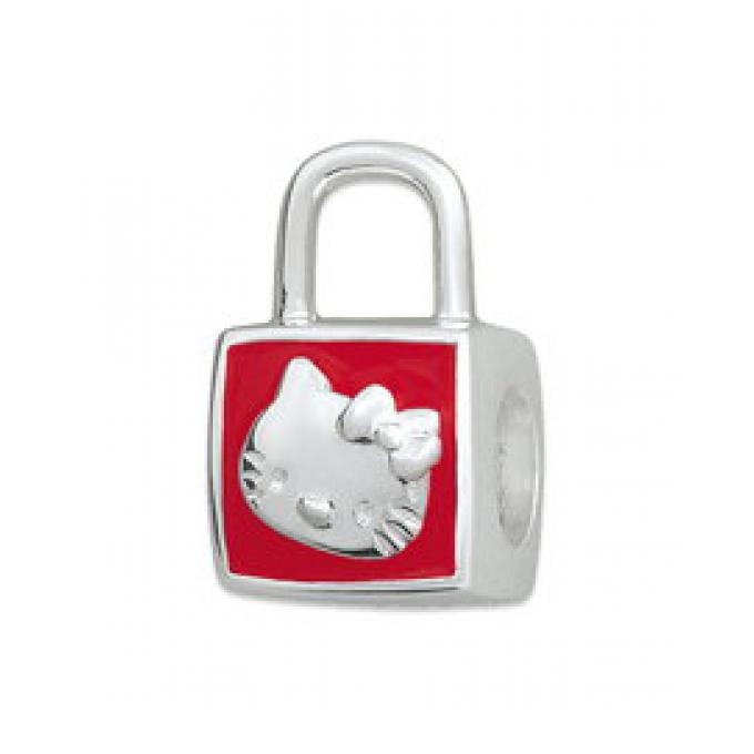 Amore & Baci Perle argent sac émail rouge Hello Kitty KB025 KB025 Amore & Baci