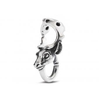 Trollbeads Perle Courage Argent 2015104027