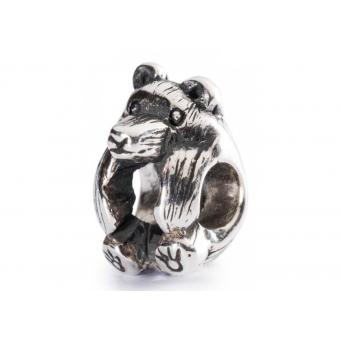 Trollbeads Perle Petit Ours Argent TAGBE-20056