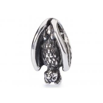 Trollbeads Perle Chauve-Souris Endormie Argent TAGBE-30058