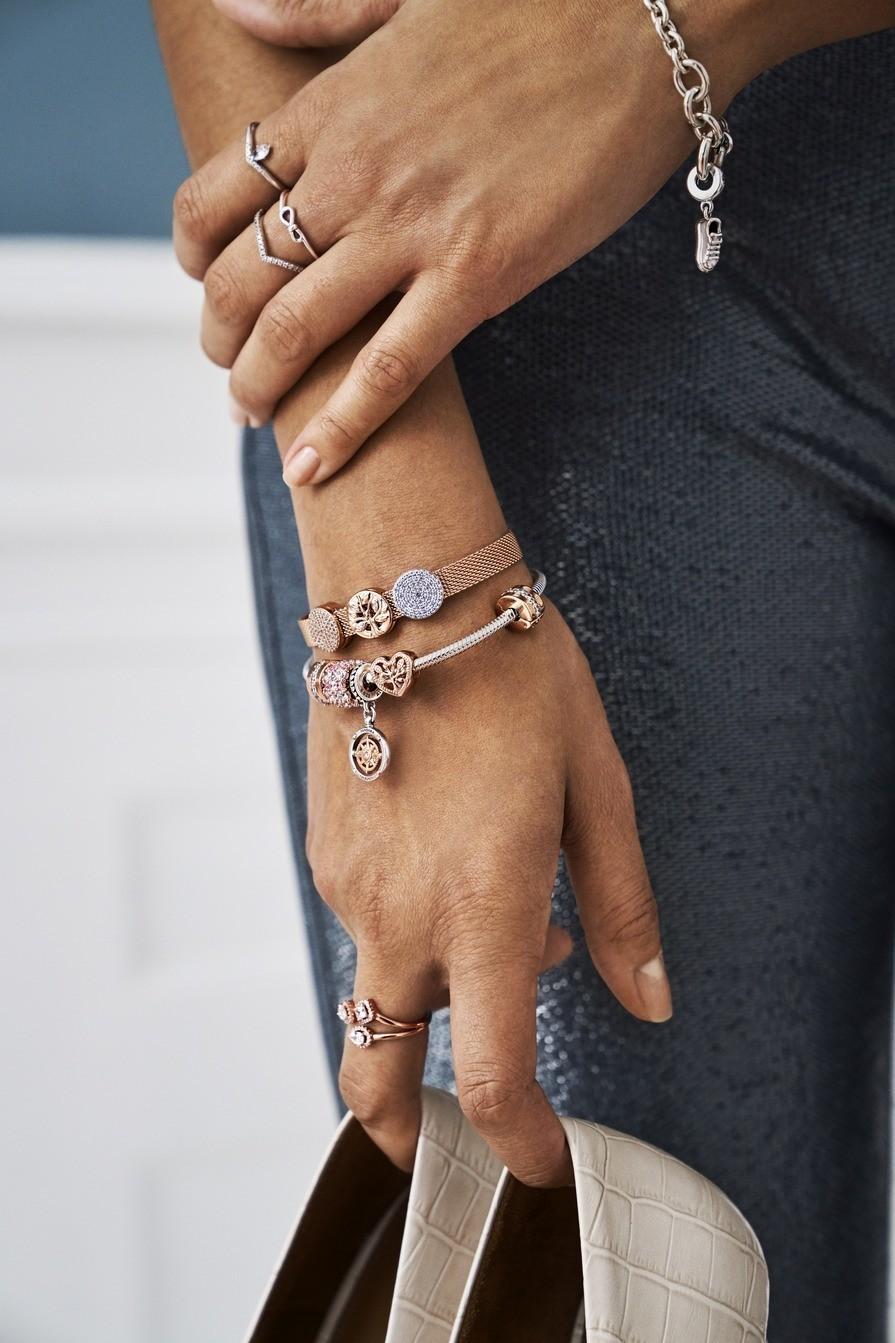 Lookeor, Charms, bijoux et Bracelet Pandora, Trollbeads, Amore et Baci