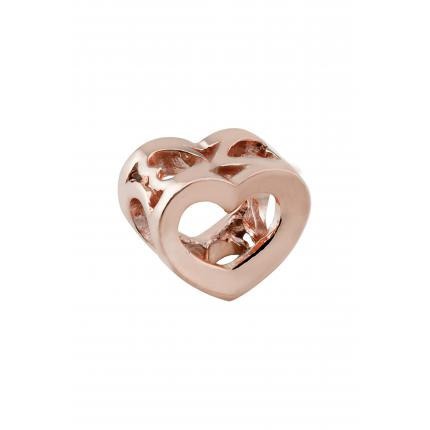 Amore & Baci Charms Amore & Baci RP01364 Perles Argent 925/1000 Rose Coeur Femme RP01364