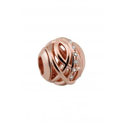 Amore & Baci Charms Amore & Baci RP20852 Perles Argent 925/1000 Rose Oz Femme RP20852