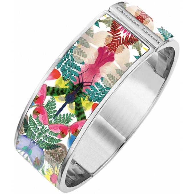 bracelet multicolore fleurs christian lacroix bijoux bracelet sur look or. Black Bedroom Furniture Sets. Home Design Ideas