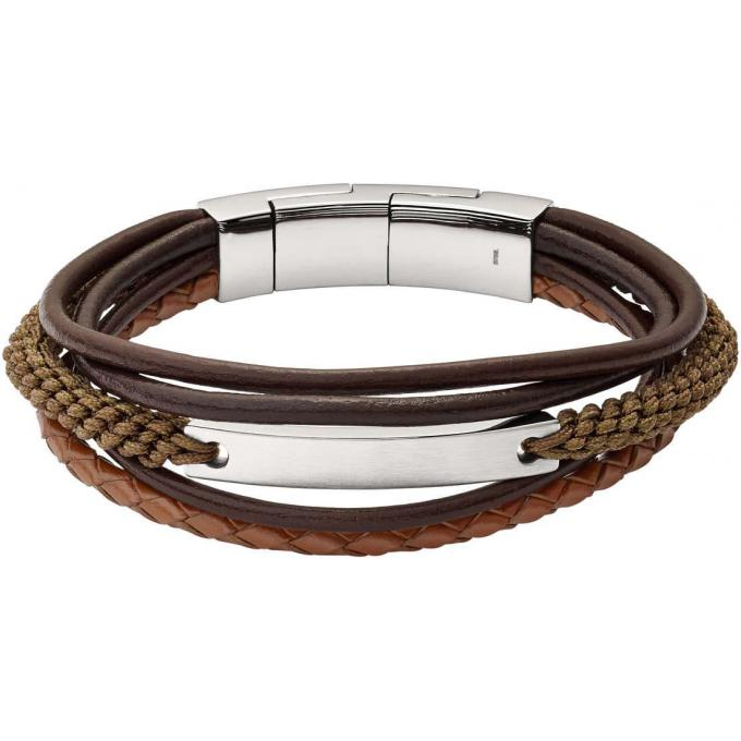 Bracelet perle homme fossil