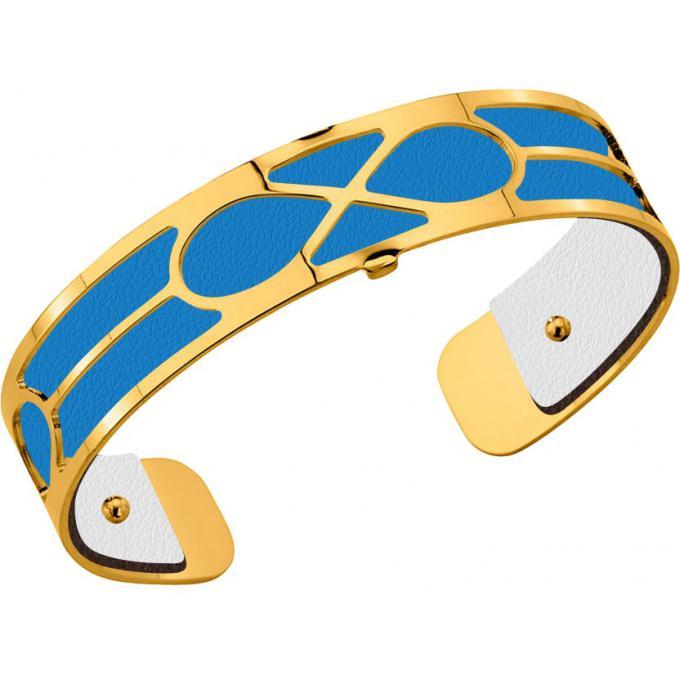 acheter en ligne 2f747 3c41a Cuir pour Bracelet Les Georgettes CUIR BLANC-TURQUOISE - Cuir pour Bracelet  Reversible Interchangeable Femme 5/5 (1 avis)